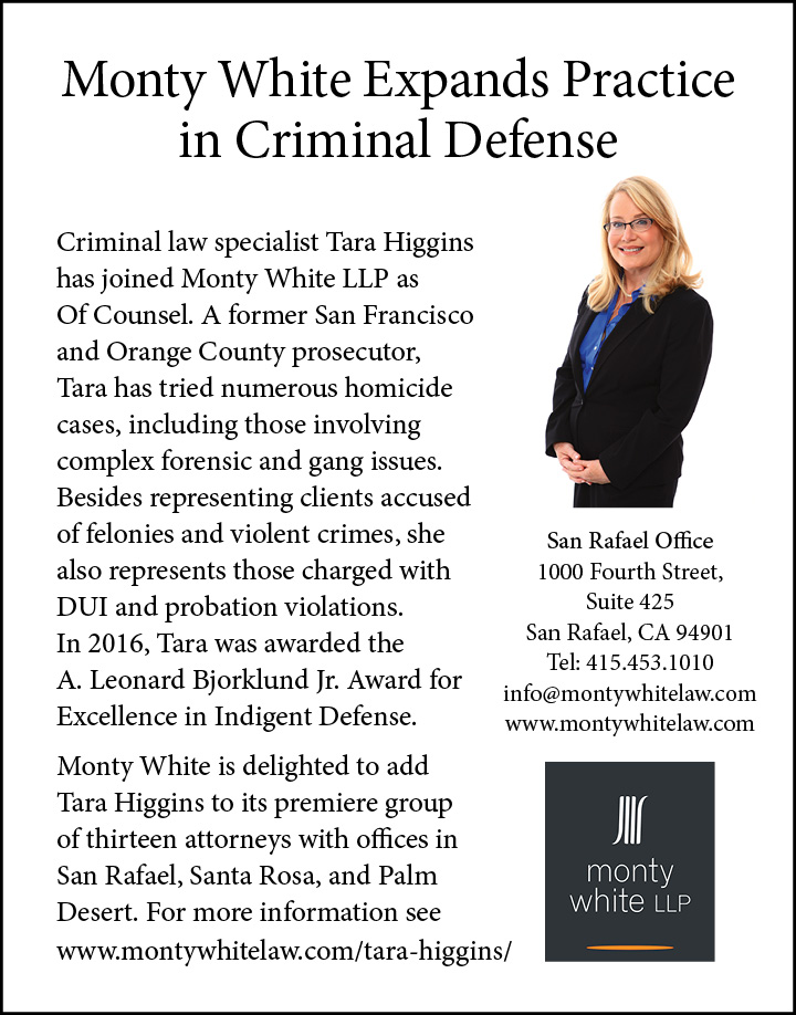 Monty White Expands Practice in Criminal Defense